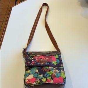 Sakroots floral cross-body bag Excellent Cond.
